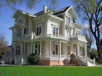 The Gable Mansion  Woodland  California