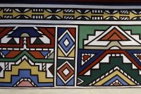 Ndebele style, part of the House