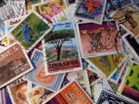 Stamps from Rhodesia and Zimbabwe