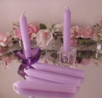 Lavender Ritual Candles