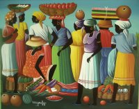Haitian art by Berny Mathias