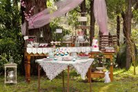 Forest Fairy Party Buffet Table