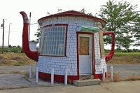 Teapot Dome former gas station Zillah Washington