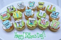 ♥Happy Father 's Day Cupcakes♥