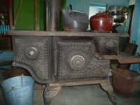 Old stove found in Manitoba  Canada