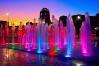 Rainbow Fountains