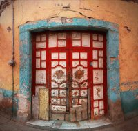 Doors in Matehuala  Mexico