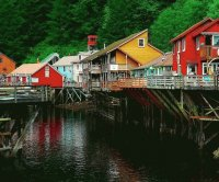 Ketchikan village  Alaska