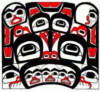 Made by the Tlingit people  South East  Alaska