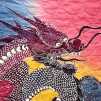 Chinese Dragon  art Quilt
