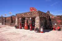Old Route 66 Gas Station  Arizona