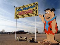 Flintstone Bedrock City at Valle  Arizona