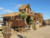 Ghost Town  Mojave desert California