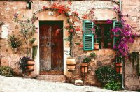 Old village House Crete  Greece