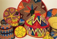 Habesha Baskets made by Eritrean woman