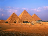 The Gizeh Pyramids