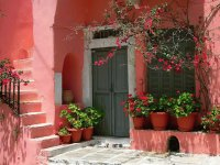 Pink House Greece