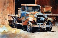 Old forgotten truck by Carl Purcell