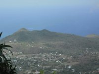 View from Climb of Mt. Nevis