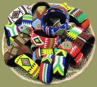 African beading