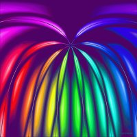 Rainbow by  Mary P Siebert