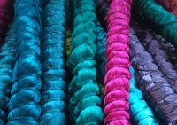 Silk in the factory