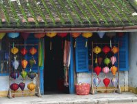 Lampion shop Hoi An  Vietnam