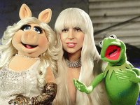 Lady Gaga, Kermit and Miss Piggy