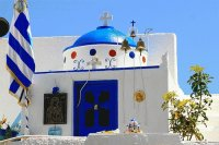 Little Church Pyrgos  Greece