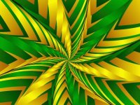 Green and Yellow fractal