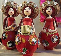 Brasilian Puppets painting