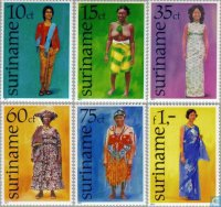 Stamps from Suriname