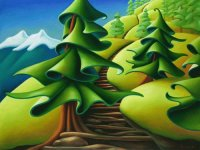 The Rockies by Emily Carr