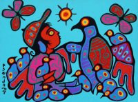 Native art by Norval Marriseau