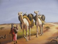 Walking in the Somalian Desert by Madar Osman