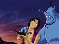 Aladdin and Genie