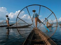 Fisherman  Inle Lake Myanmar