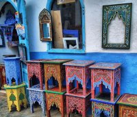 Furniture from Maroc