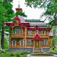 Wooden House Eastern Europe