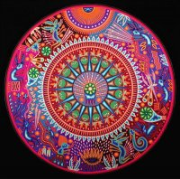 Mexican folk art, Huichol art