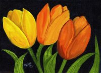 Tulips by Etsy Kay Murphy