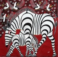African art painting