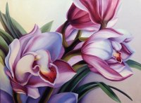 Giclee Orchids
