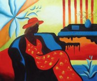 Modern African American painting