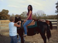 Khelcy on the Horse :)
