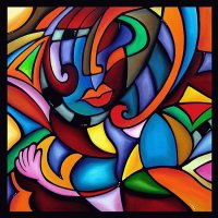 Woman  Cubist art