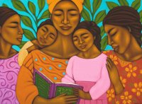 Reading Family by Tamara Adams