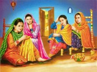 Lady 's from India