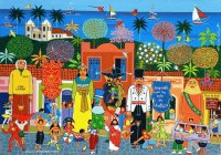 Carribean art by Militao dos Santos