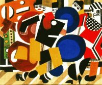 Abstract by Fernand Léger
